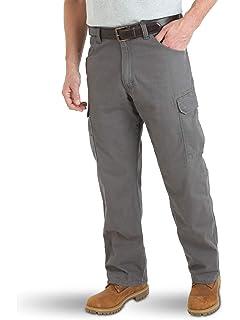 9716e388306de9 Wrangler Authentics Mens Big & Tall Classic Twill Relaxed Fit Cargo Pant  ZM6LGB Men
