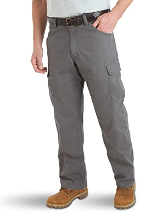 cd166ec6 Wrangler Men's Big and Tall Riggs Workwear Big & Tall Lightweight Ranger  Pant, Charcoal,