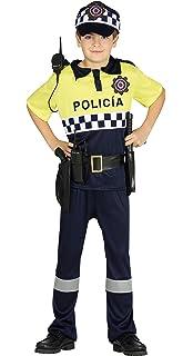 Rubies - Disfraz de policia para niño, talla 3-4 años (Rubies ...