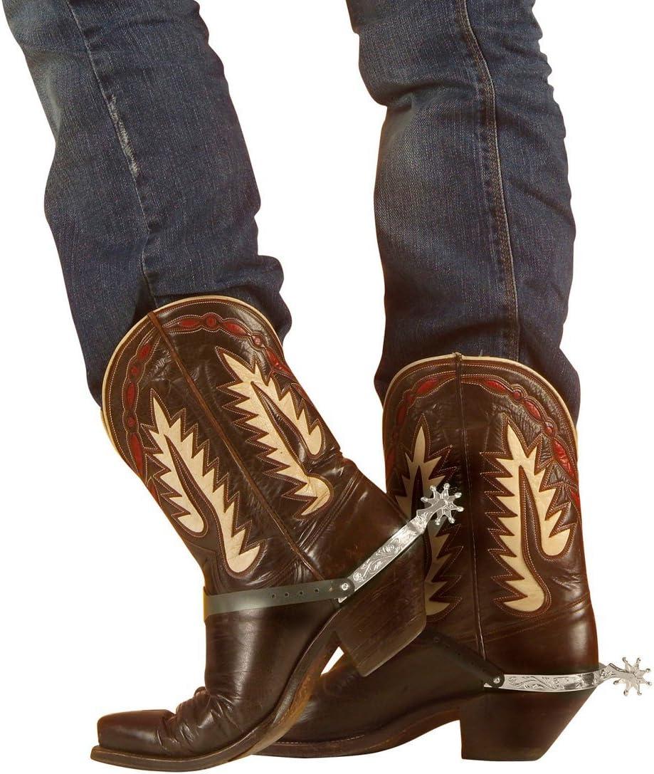 Zubehör Accessoire Karneval Fasching Western Cowboy Sporen NEU