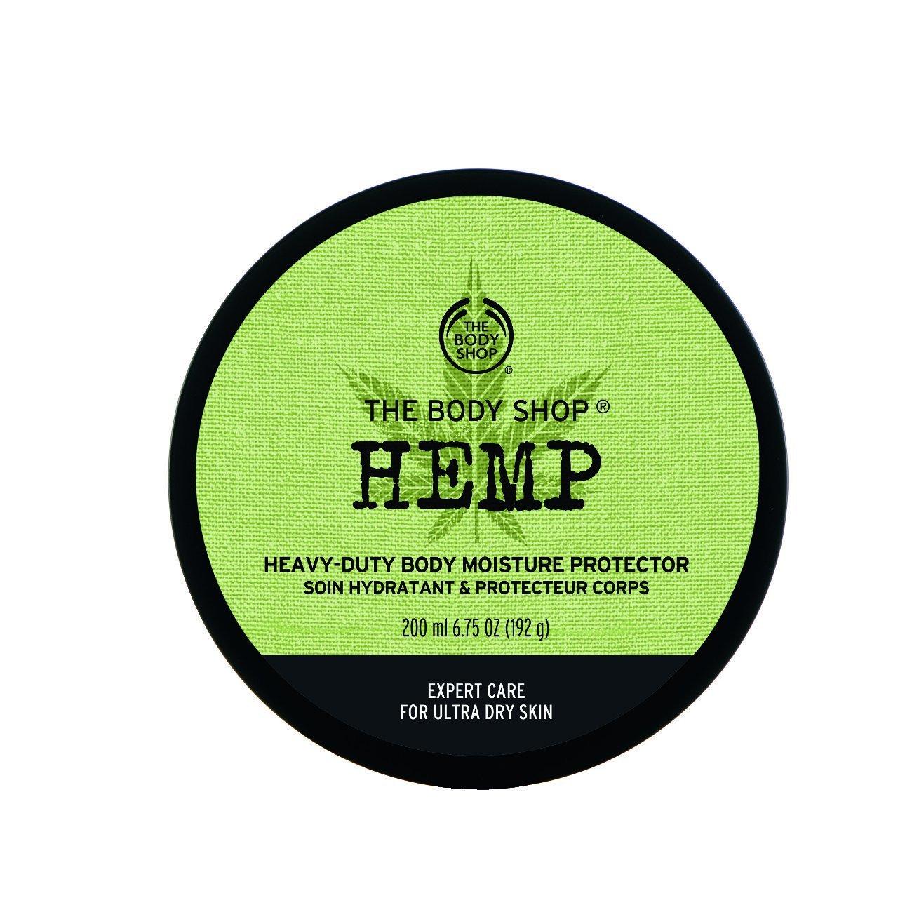 Hanf Körperbutter 200 ml für sehr trockene Haut Hemp Body Butter 200ml For VERY DRY SKIN The Body Shop 5028197850821