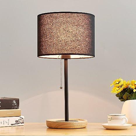 E&L ZYLE Lampada da Comodino, LED Lampada da Comodino per Camera da ...