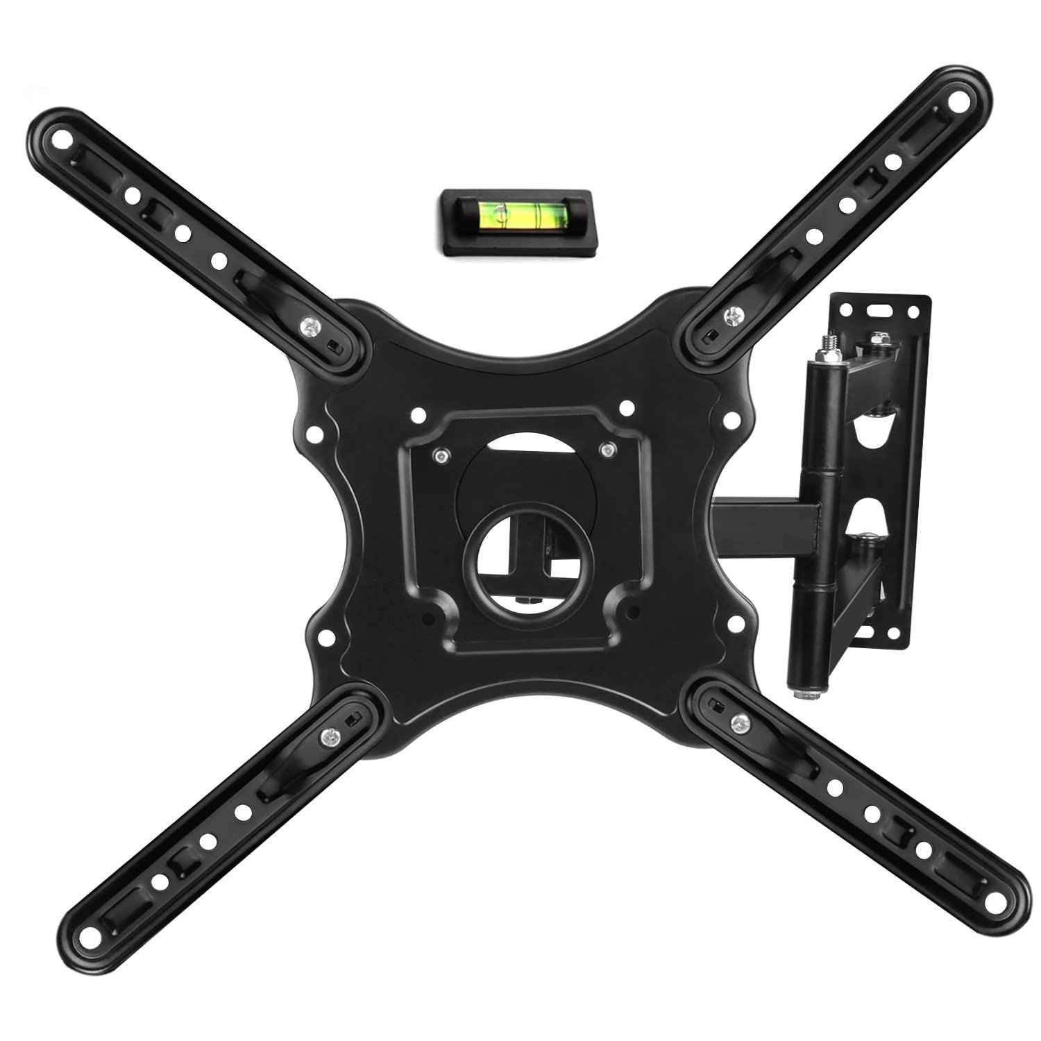 Fancy Buying TV Wall Mount Monitor Wall Bracket with Swivel and Articulating Tilt Arm, Fits 26 32 35 37 40 42 47 50 55 Inch LCD LED OLED Flat Screens up to 66 lbs Flat Screen TVs