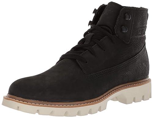 557dc9fb767e0 CATERPILLAR Basis Botines Low Boots Hombres Negro - 46 - Botas de caña  Baja  Amazon.es  Zapatos y complementos