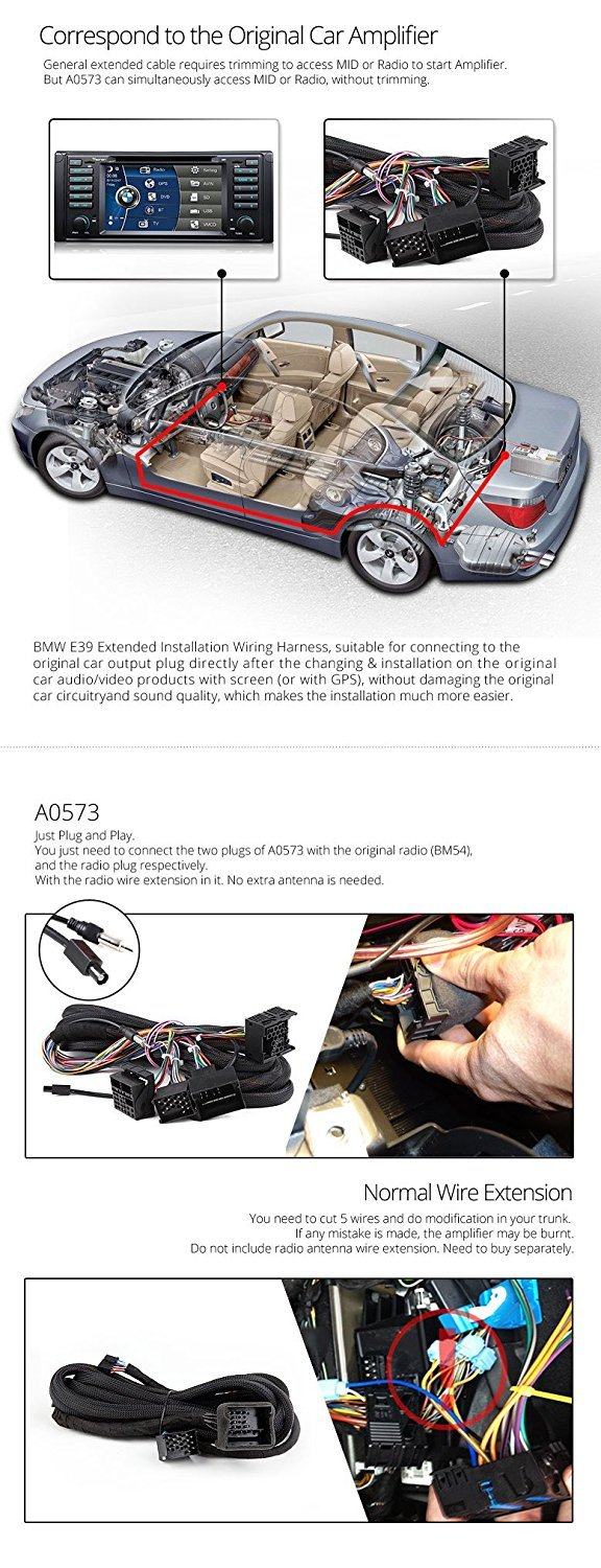 Mazda 6 Parent D5201zu Electronics Amp Wiring For 1998 Bmw E39