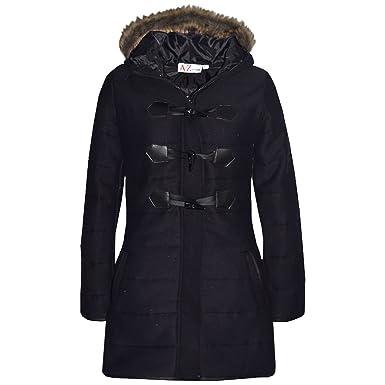 97bdd91b4c75 A2Z 4 Kids® Kids Coat Girls Fleece Parka Jacket Padded Long Faux Fur ...