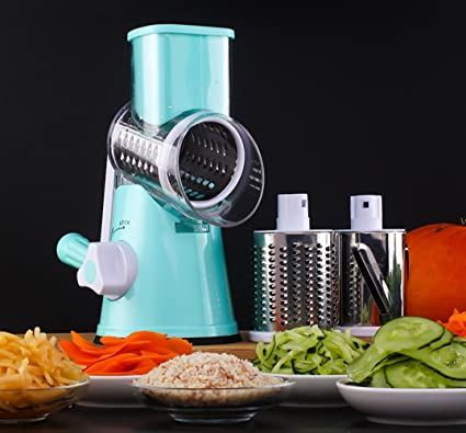 VLUNT Picadora de Carne Rodillo Manual Picadora de Verduras ,Picadora de Alimentos para Picar Frutas