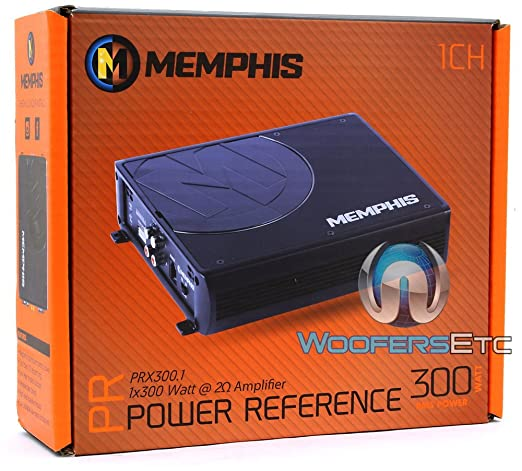Amazon.com: 16-PRX300.1 - Memphis Monoblock 300W RMS PRX Series Amplifier: Car Electronics