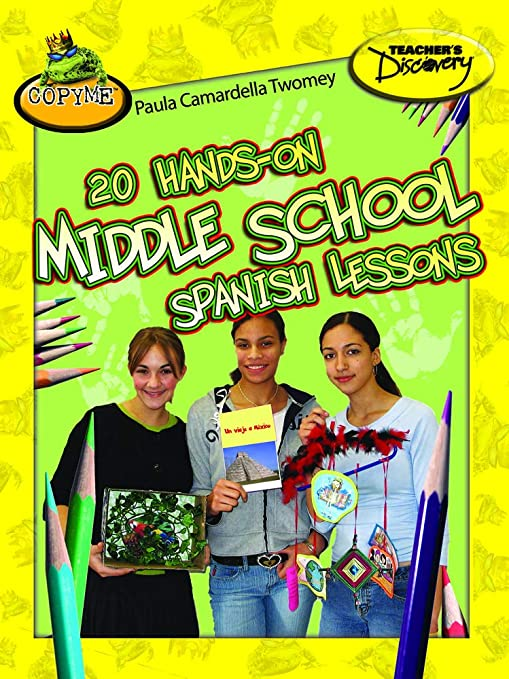 Amazon com : 20 Hands-on Middle School Spanish Lessons Book