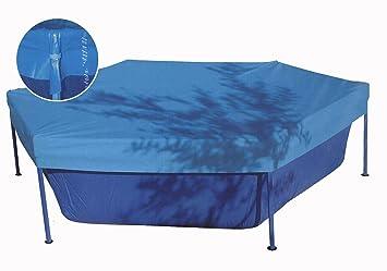 TOI - Cubierta tubular para piscinas tipo basic - 200: Amazon.es: Juguetes y juegos