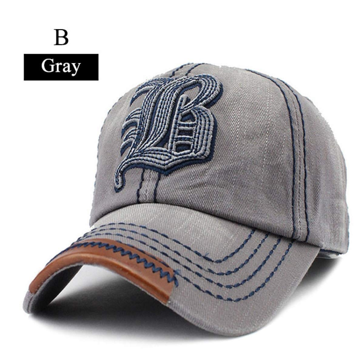 Cap for Men and Women Gorras Snapback Caps Baseball Caps Cap dad hat B Gray at Amazon Mens Clothing store: