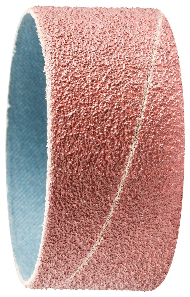 PFERD 41296 Cylindrical Type Abrasive Spiral Band, Aluminum Oxide A, 2-3/8'' Diameter x 1-1/8'' Length, 50 Grit (Pack of 100) by Pferd (Image #1)