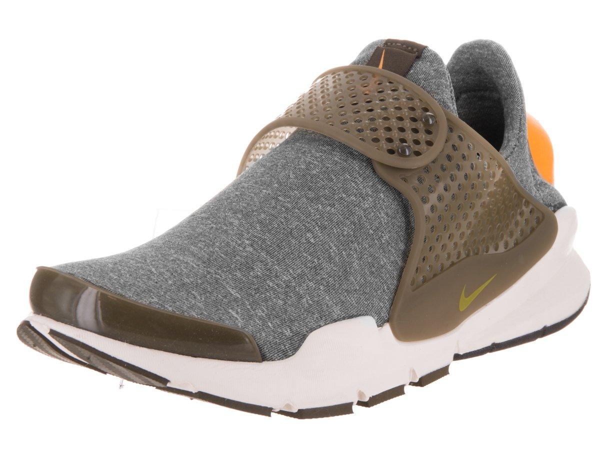 NIKE Womens Sock Dart Running Shoes B007HTBSYO 5 B(M) US|Dark Loden/Dark Loden/Sail/Gold Leaf