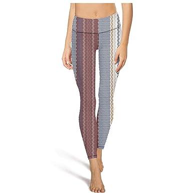 02159fcef6aa Cool high Waisted Leggings for Women Training Yoga Pants Stripe ...