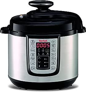 Tefal CY505E40 All-in-one - Cocina eléctrica al vapor, multi cocción, Negro, Acero inoxidable (Reacondicionado Certificado): Amazon.es: Hogar