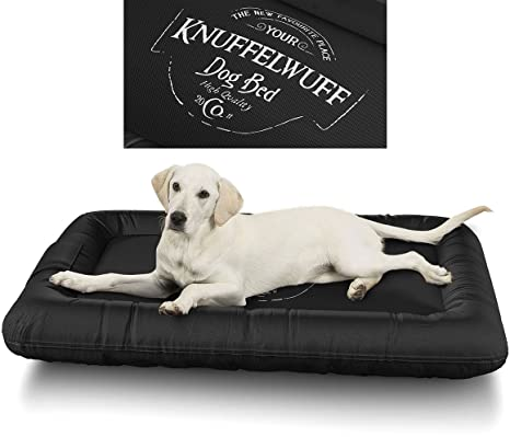 Knuffelwuff 13969 – 002 cama impermeable para perros Avery con diseño vintage, XL, 88