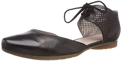 01eefc7a11bd3b Piazza Damen-Slipper Schwarz 840760-1  Amazon.co.uk  Shoes   Bags