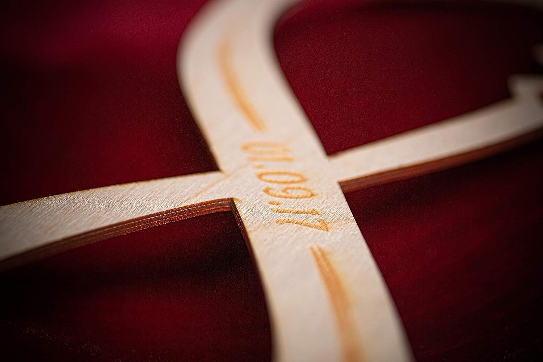 Señal de infinito de madera con grabado - Regalo para parejas ...