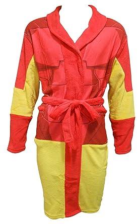 Marvel Avengers Men\'s Fleece Bathrobe/Dressing Gown, Several ...