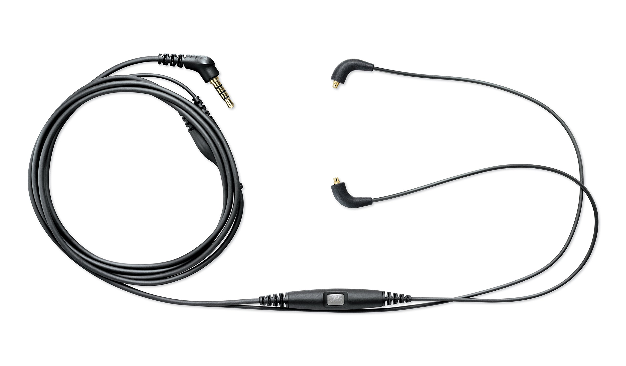 Shure CBL-M-K Music Phone Cable with Remote + Mic (One-Button Control)