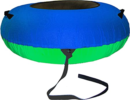 ClearCreekTubes Colossal Snow Tube Cover-blue green