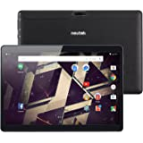 NeuTab 10.1 inch Unlocked GSM 3G Quad Core Tablet N11 Plus, 16 GB Storage, HD 1280x800 IPS Display, Bluetooth, GPS Supported, FCC Certified - Black