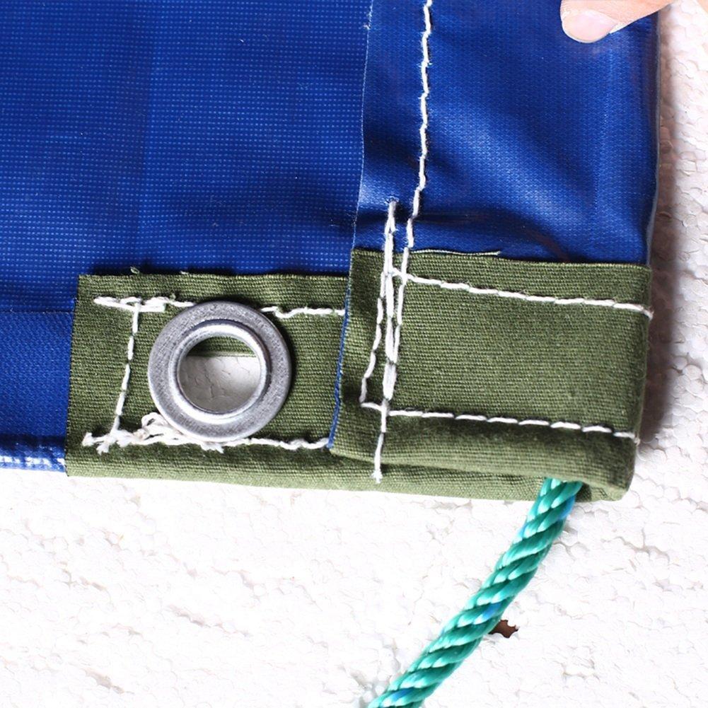JINSH Außenzelt Plane Regendichte Sonnencreme Sonnencreme Sonnencreme Verdickung LKW Plane Picknick-Matte Ladung Sonnencreme Isolation verschleißfest, blau (Farbe   Blau, Größe   3x6M) B07PVNMH6V Zeltplanen Schnelle Lieferung 348764