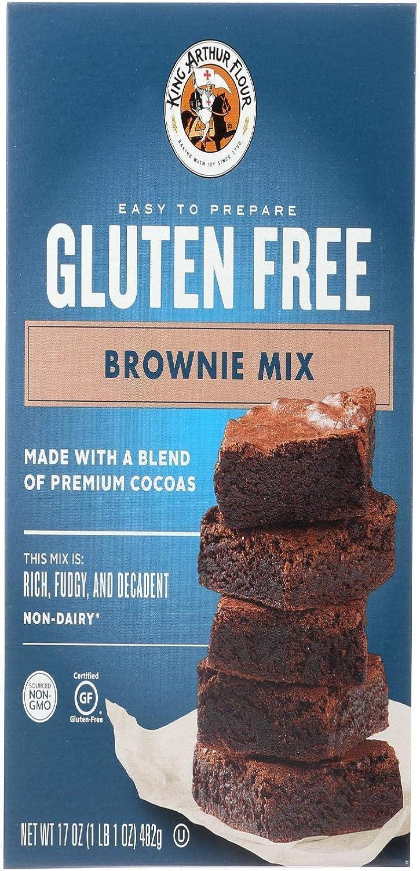 King Arthur Flour Gluten Free Brownie Mix 17 oz (482 grams ...