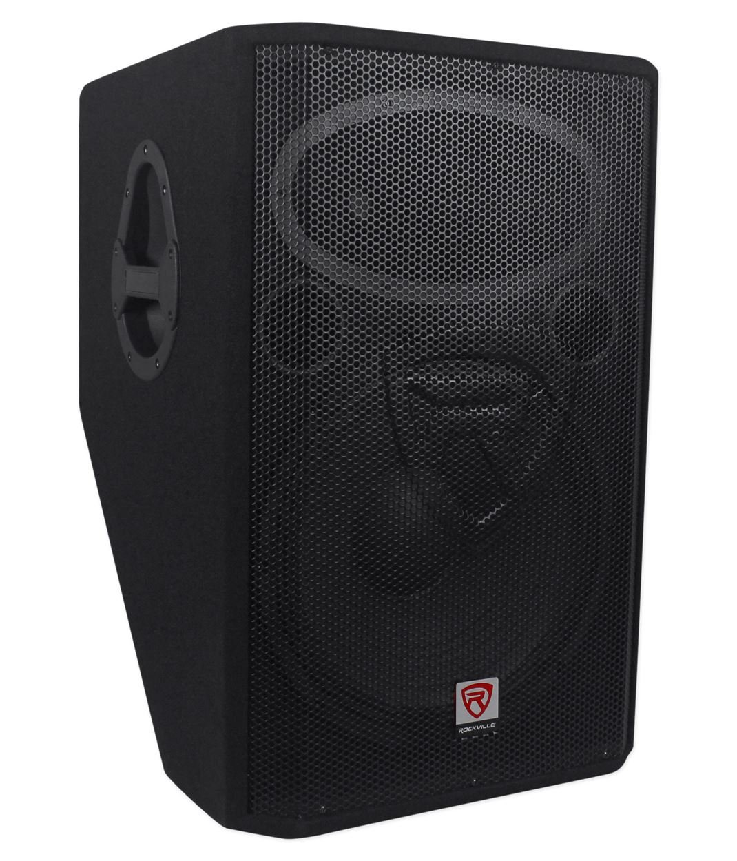 Rockville 15'' 1400 Watt 2-Way Passive Stage Floor Monitor Speaker, black (RSM15P) by Rockville