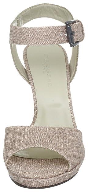 Strenesse Blue PLATEAU SANDAL 862010 79020, Damen  Sandalen Fashion-Sandalen, Rosa (rosa 500), EU 38.5  Amazon.de  Schuhe    Handtaschen 562af4f67f