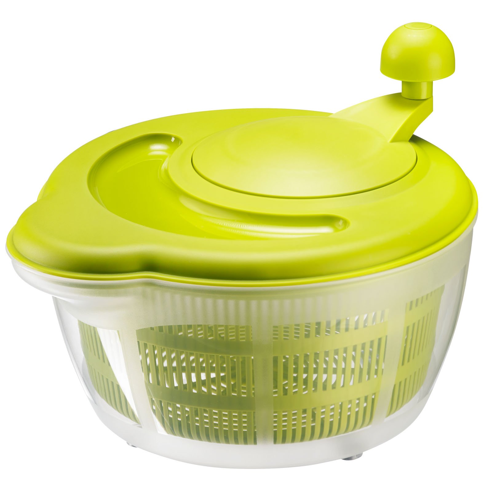 Westmark German Vegetable and Salad Spinner with Pouring Spout and Non-Slip Feet