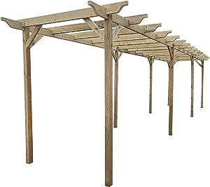Arbor Garden Solutions Kit de pérgola de Madera para jardín, Gama Exclusiva de pérgola – 9 diseños – 42 Kits de tamaños