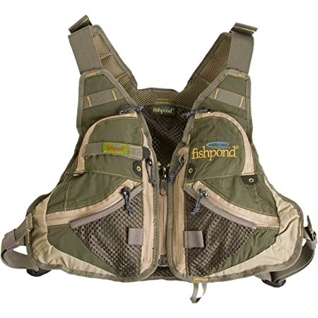 Fishpond Elk River Youth Vest, Pine Needle