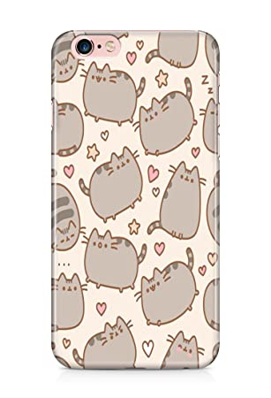 newest 6a585 a755f Pusheen Cat cartoon case covers 3D For Iphone 6PLUS /6S PLUS: Amazon ...