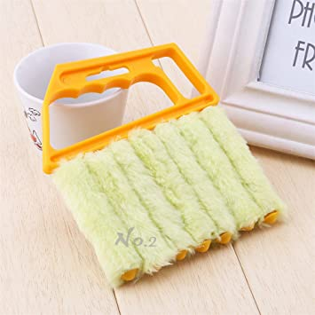 No 2 Warehouse Practical Mini Blind Cleaner Brush Vertical Window Blinds Brush Cleaner Mini 7