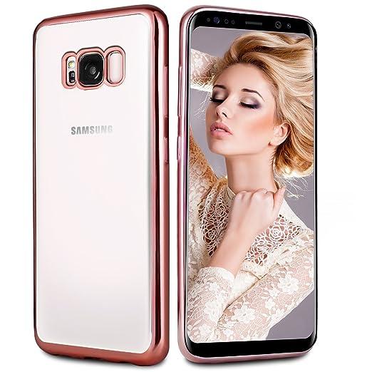 21 opinioni per Custodia Galaxy S8, Infreecs Samsung Galaxy S8 Silicone Caso Molle di TPU
