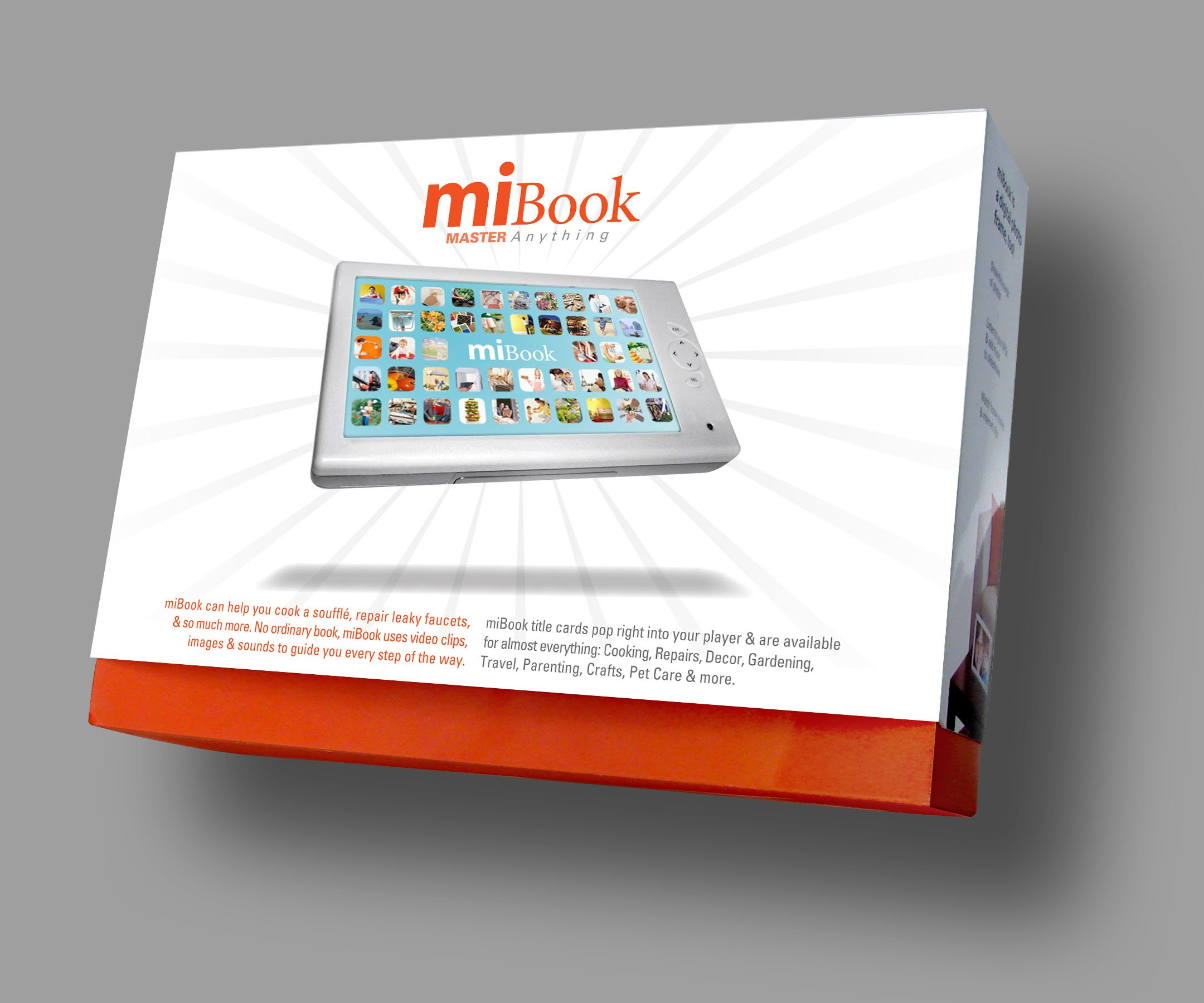 miBook Player 7 Inch Digital Concept