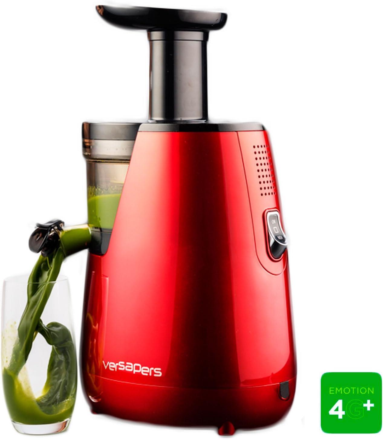 Versapers - Extractor de zumos, color rojo: Amazon.es: Hogar
