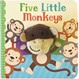 Five Little Monkeys (Finger Puppet Board Book)
