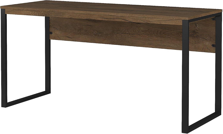 Bush Furniture Latitude Desk, 60W, Rustic Brown