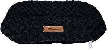 Colore: Grigio M-PETS Shetland 97 x 65 cm Taglia XXL Cuscino Ovale per Cane