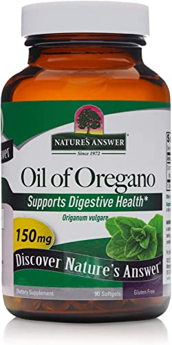 Natures Answer Oregano Oil Softgel – 90 per pack – 3 packs per case.