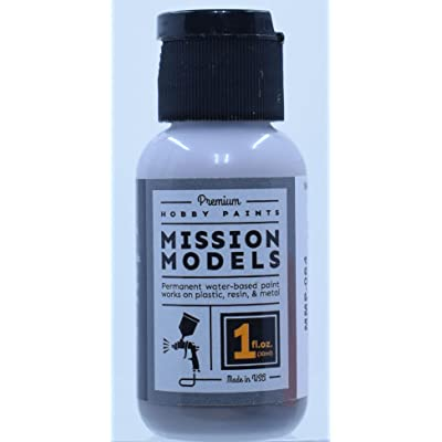 Mission Models Dark Gull Grey FS#36231, MMP-064 1oz.: Toys & Games