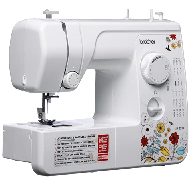Amazon Brother Jx40 Sewing Machine Refurbished Inspiration How To Setup A Brother Jx2517 Sewing Machine
