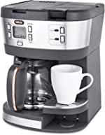 CRUX (14813) Triple Infusion Brew Programmable Coffee Maker for 12 Cup