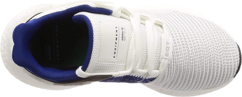 Adidas Herren EQT Support 93/17 Fitnessschuhe, grau Weiß Ftwbla Ftwbla Schwarz
