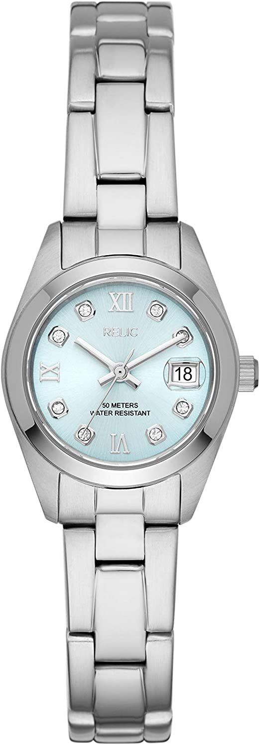 Relic Women's Tyla Quartz Watch with Stainless Steel Strap