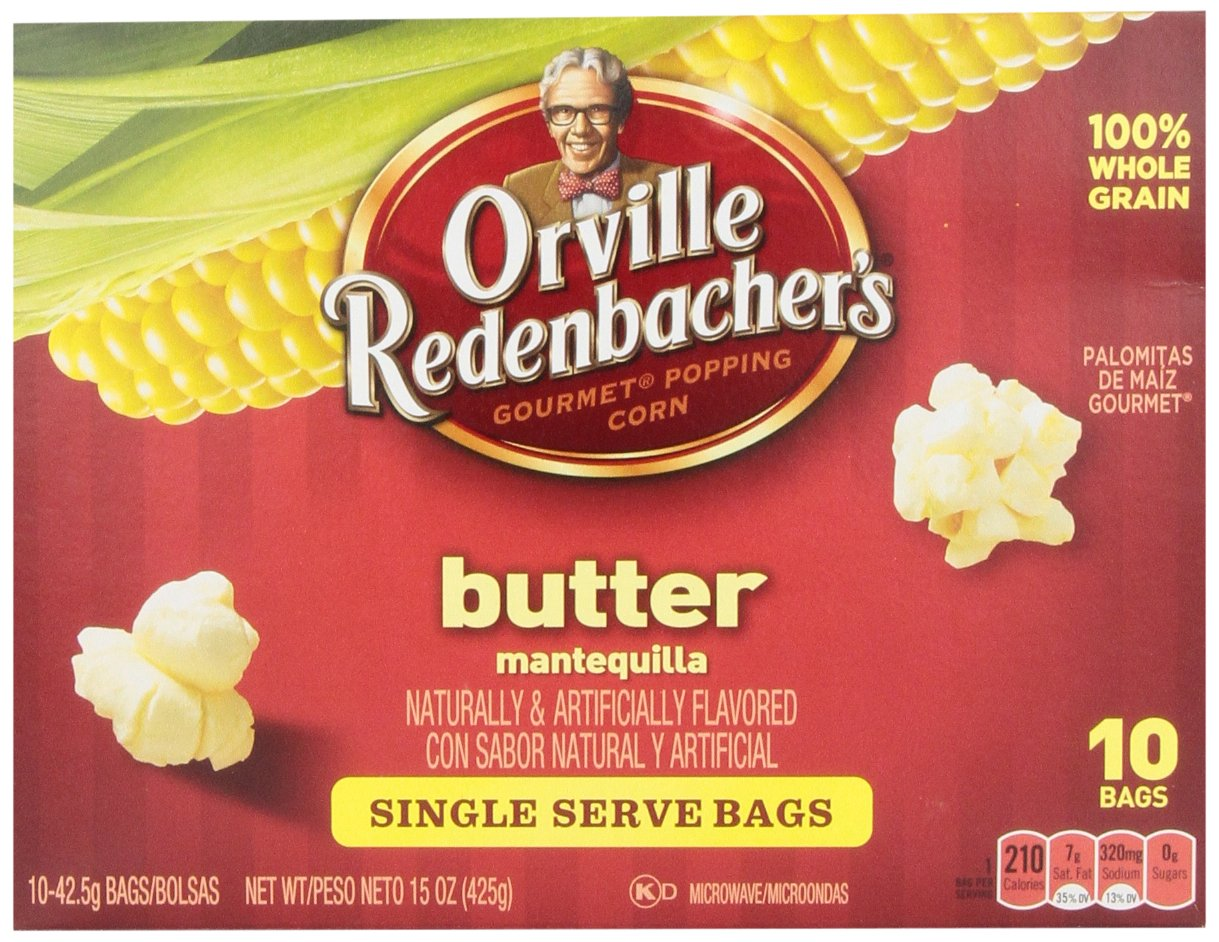 Amazon.com: Orville Redenbachers Old Fashioned Butter Mini ...