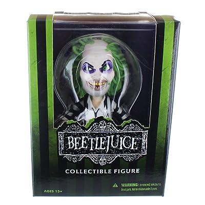 Mezco Toys Stylized Beetlejuice - Figurina, 15 cm: Juguetes y juegos