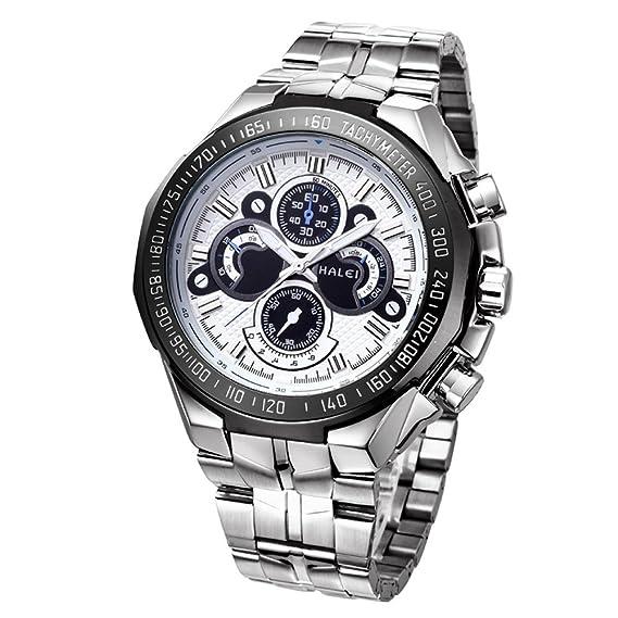 Reloj de los deportes de Mens WWOOR no mecánicos de los relojes de manera impermeable del